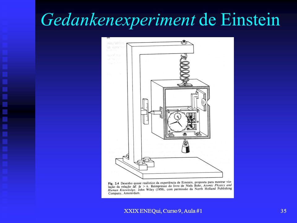 Gedankenexperiment de Einstein