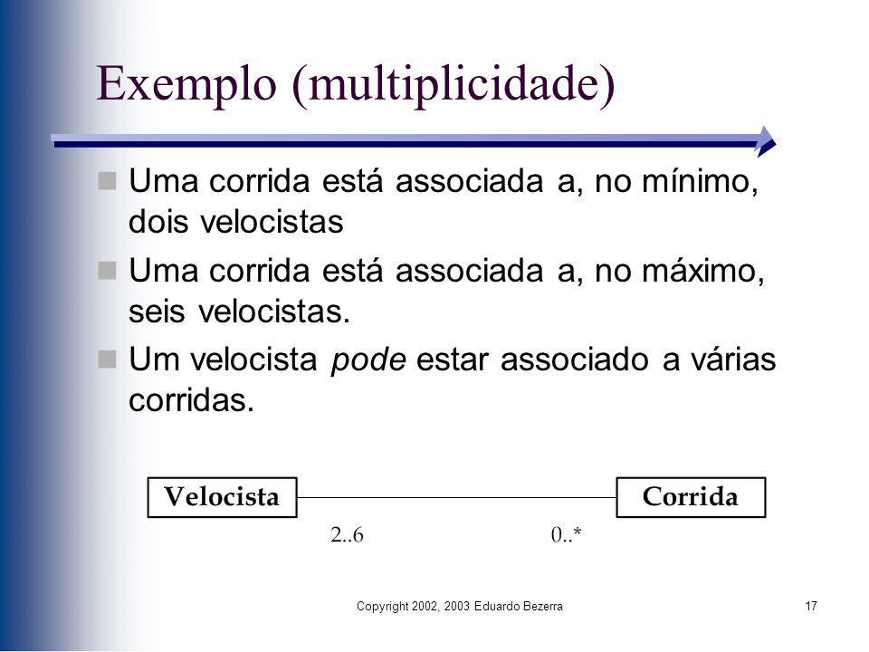 Exemplo (multiplicidade)