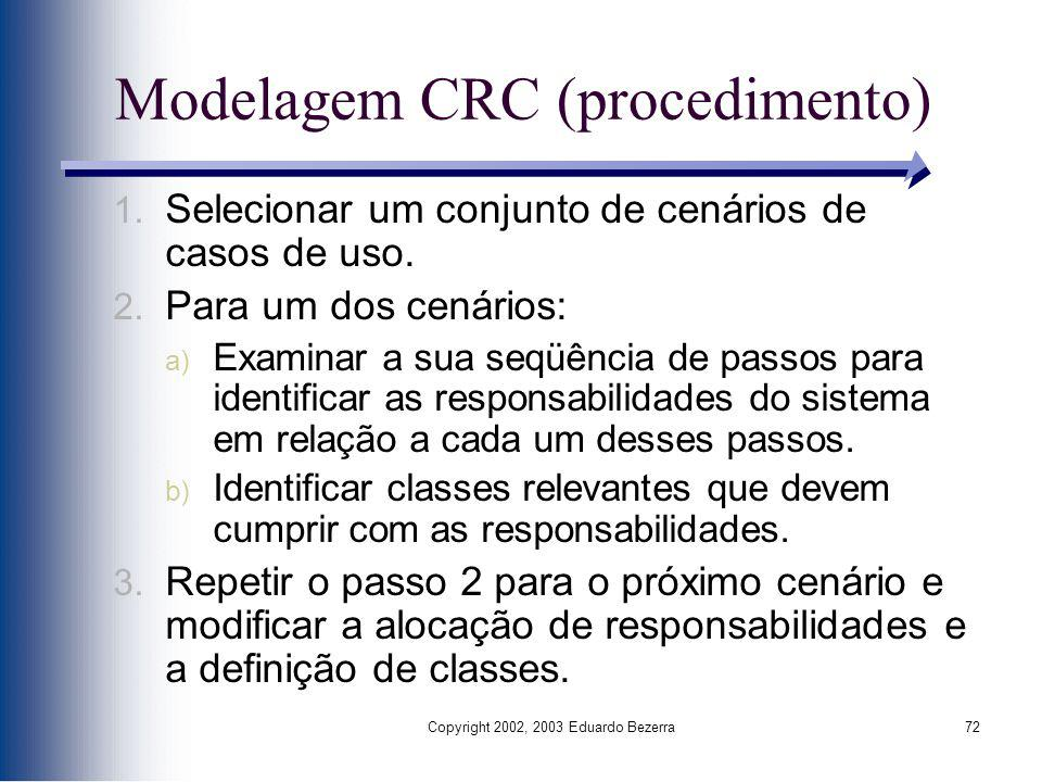 Modelagem CRC (procedimento)