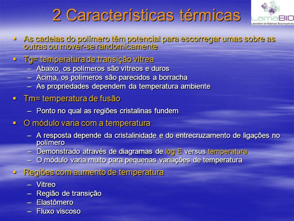 2 Características térmicas