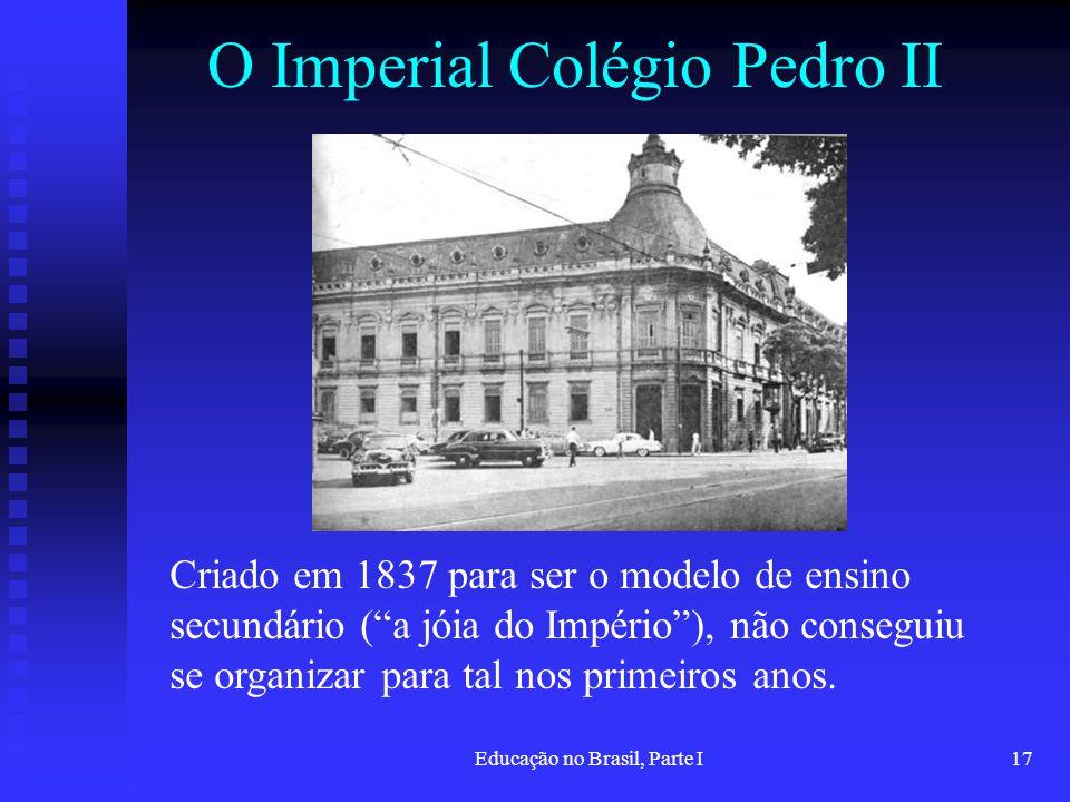 O Imperial Colégio Pedro II