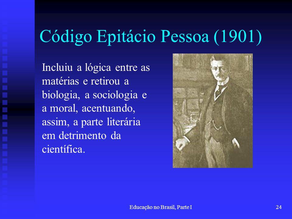 Código Epitácio Pessoa (1901)