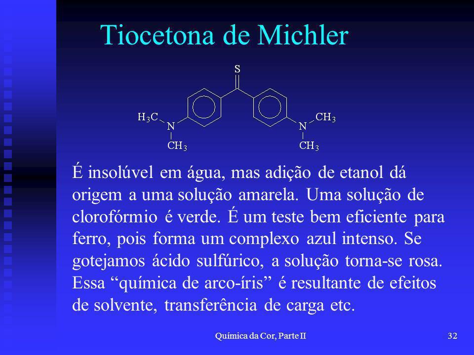 Tiocetona de Michler