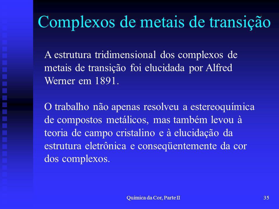 Complexos de metais de transição