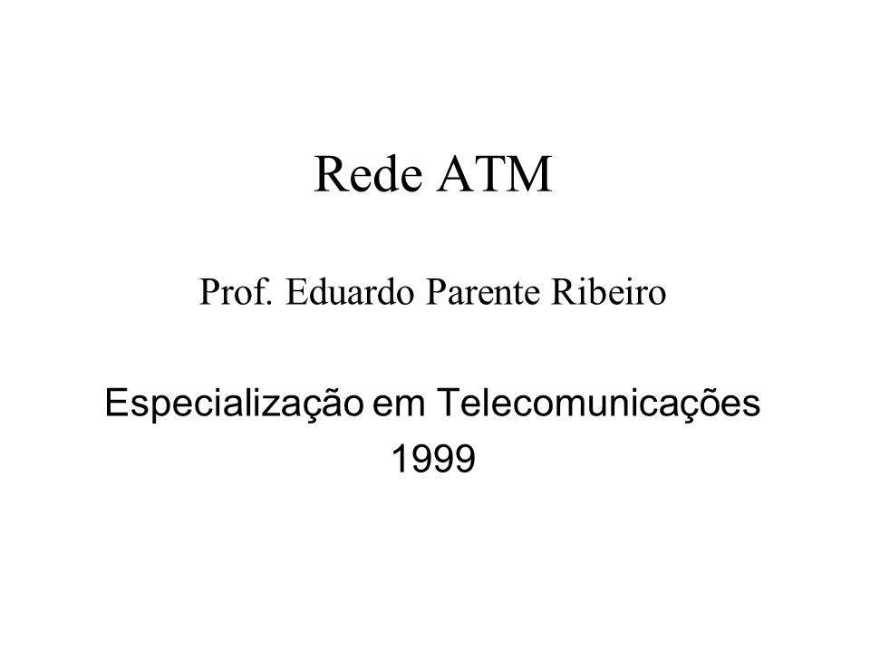 Prof. Eduardo Parente Ribeiro Especialização em Telecomunicações 1999