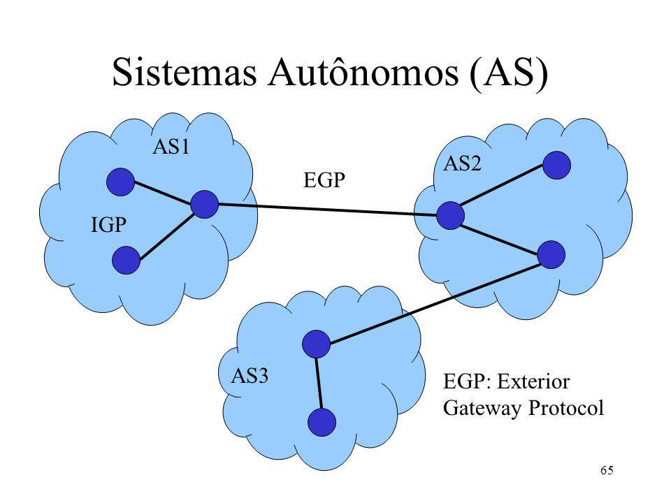 Sistemas Autônomos (AS)