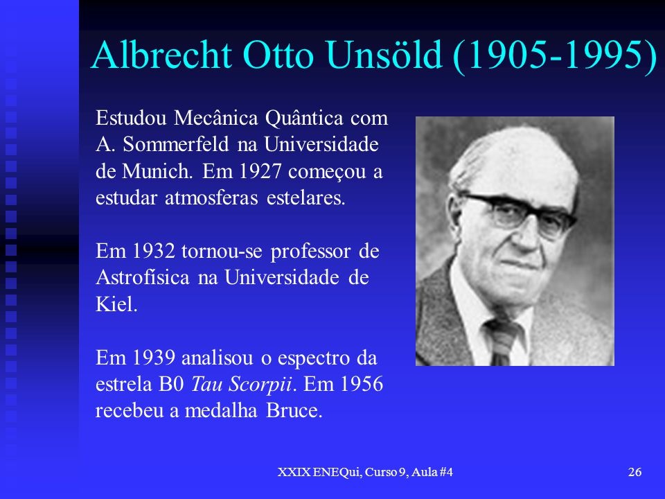 Albrecht Otto Unsöld (1905-1995)