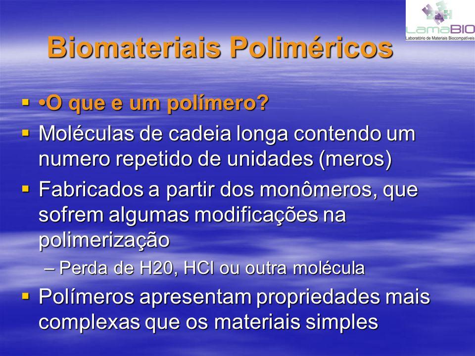 Biomateriais Poliméricos