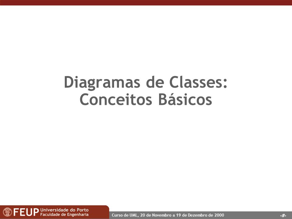 Diagramas de Classes: Conceitos Básicos