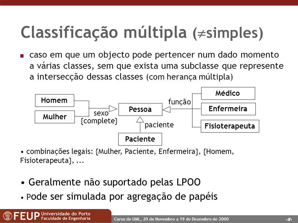 Classificação múltipla (simples)