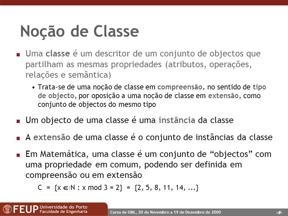 Noção de Classe
