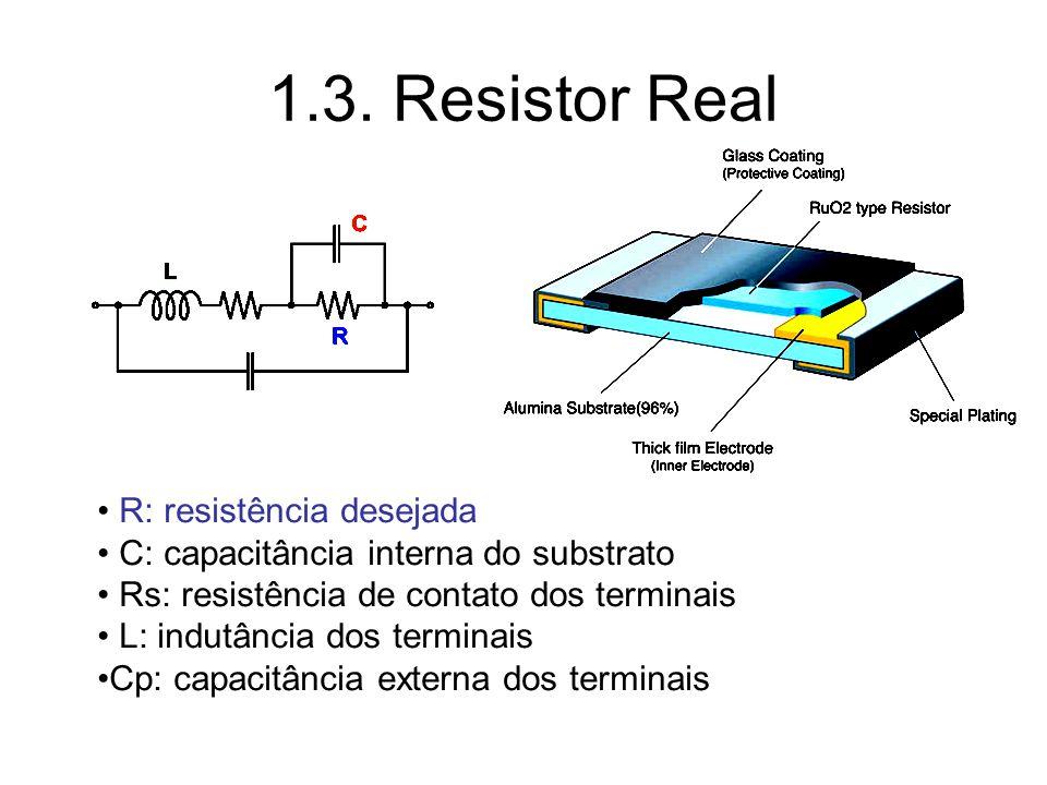 1.3. Resistor Real R: resistência desejada