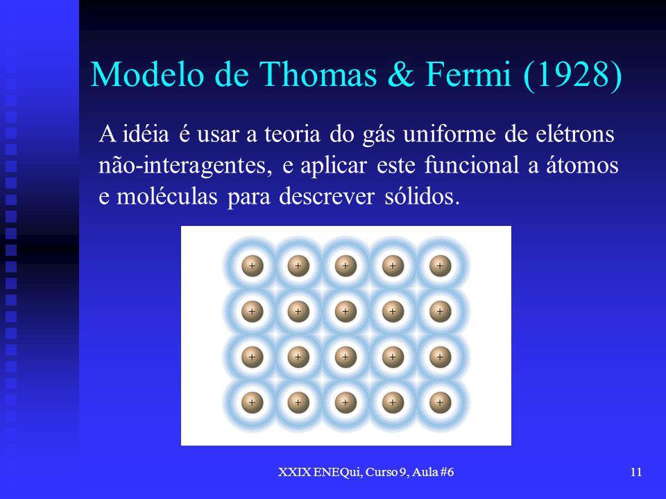 Modelo de Thomas & Fermi (1928)