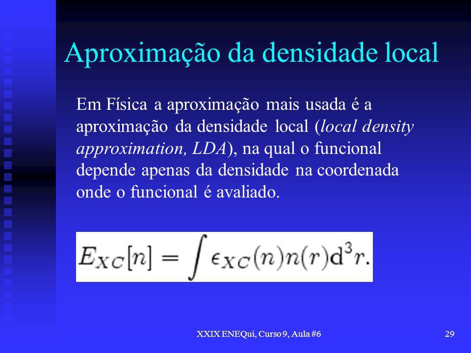 Aproximação da densidade local