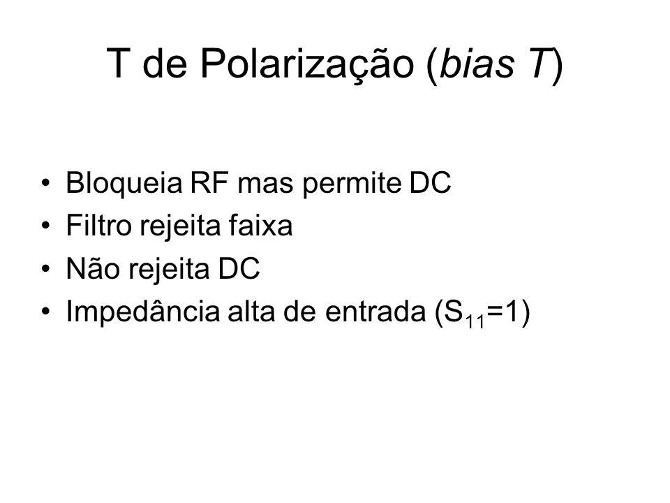 T de Polarização (bias T)