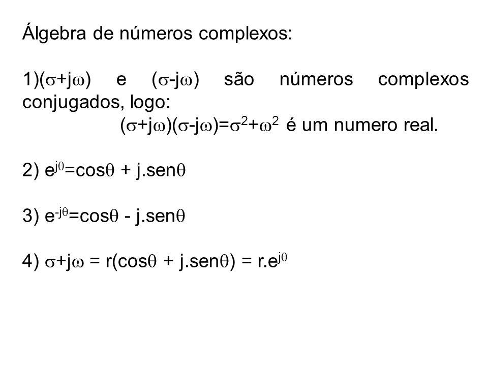 Álgebra de números complexos: