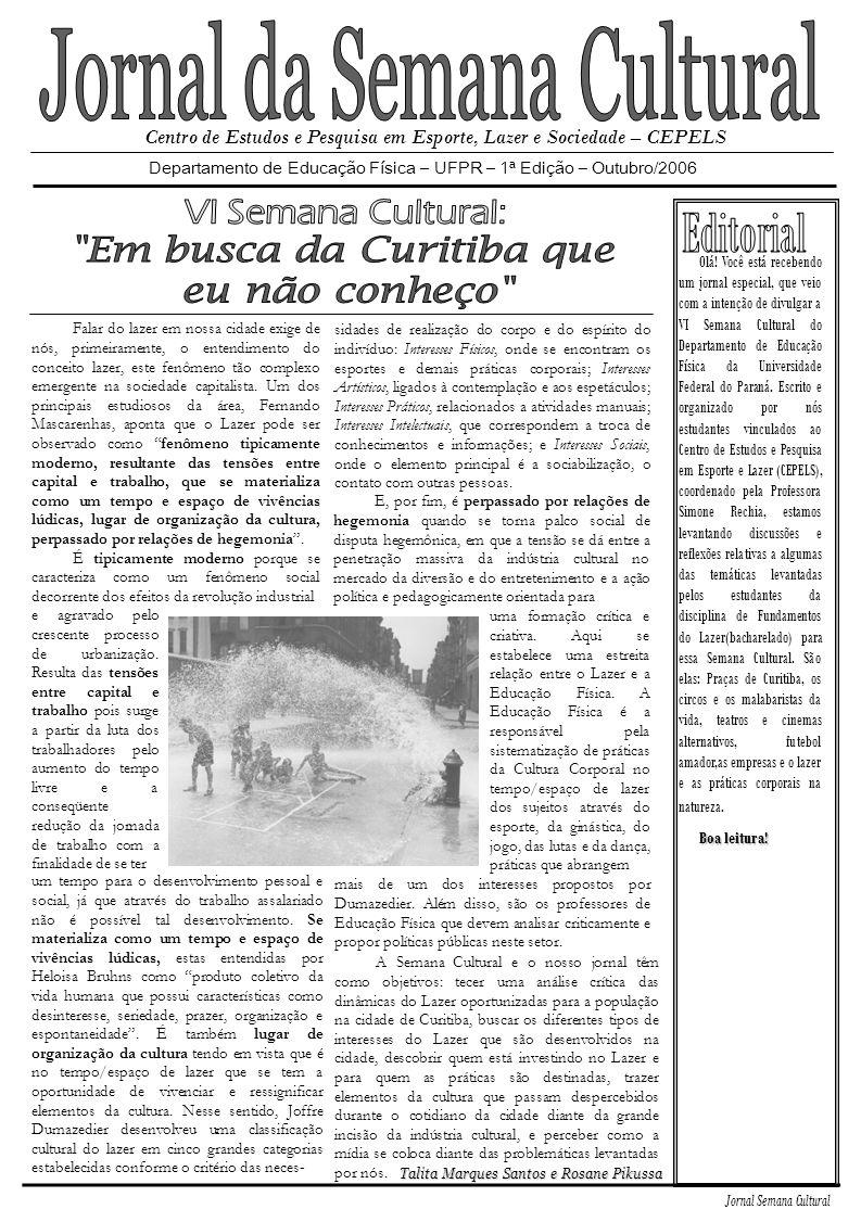 Jornal da Semana Cultural