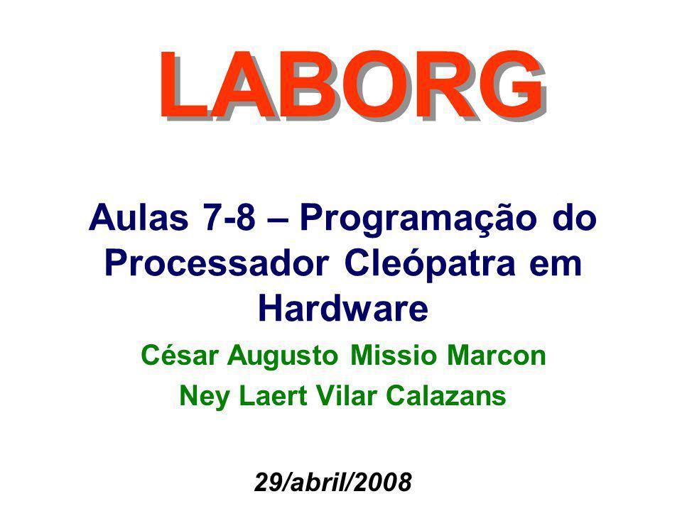 César Augusto Missio Marcon Ney Laert Vilar Calazans