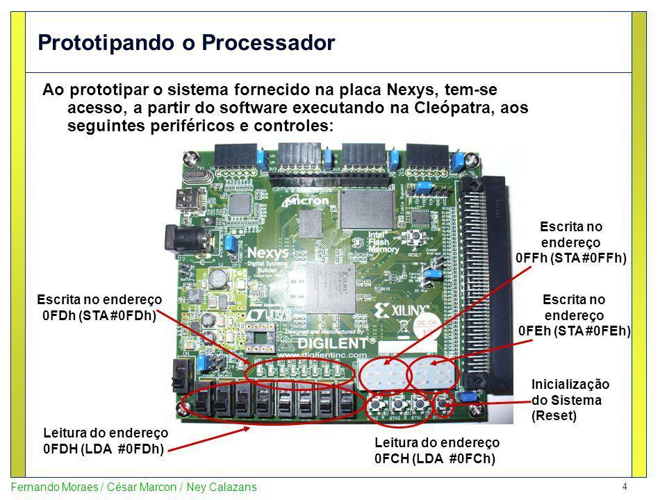 Prototipando o Processador