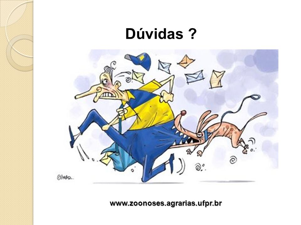 Dúvidas www.zoonoses.agrarias.ufpr.br