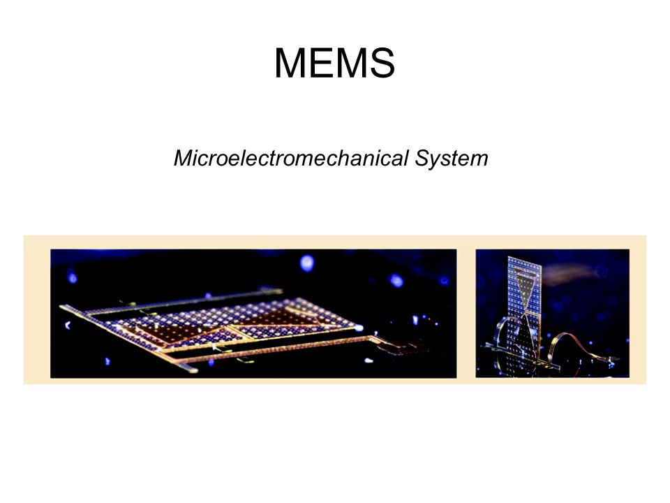 Microelectromechanical System