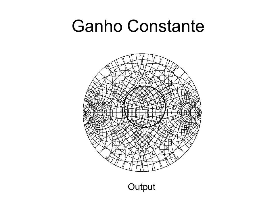 Ganho Constante Output