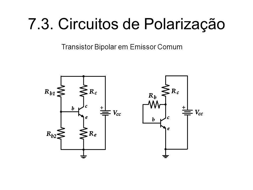 7.3. Circuitos de Polarização