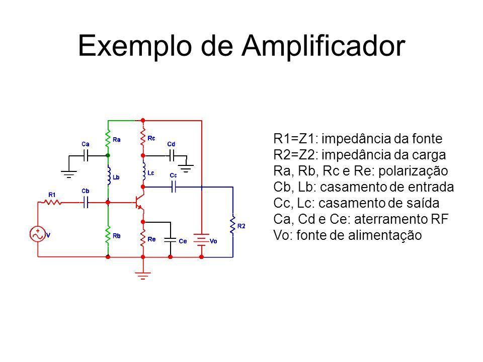 Exemplo de Amplificador