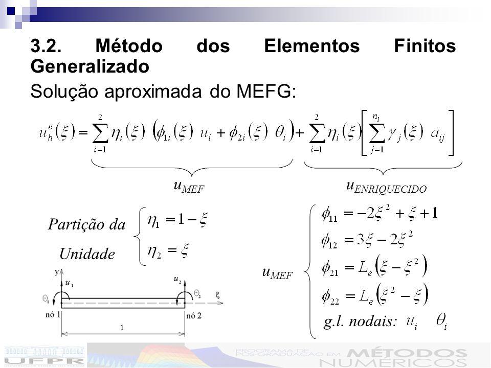 3.2. Método dos Elementos Finitos Generalizado