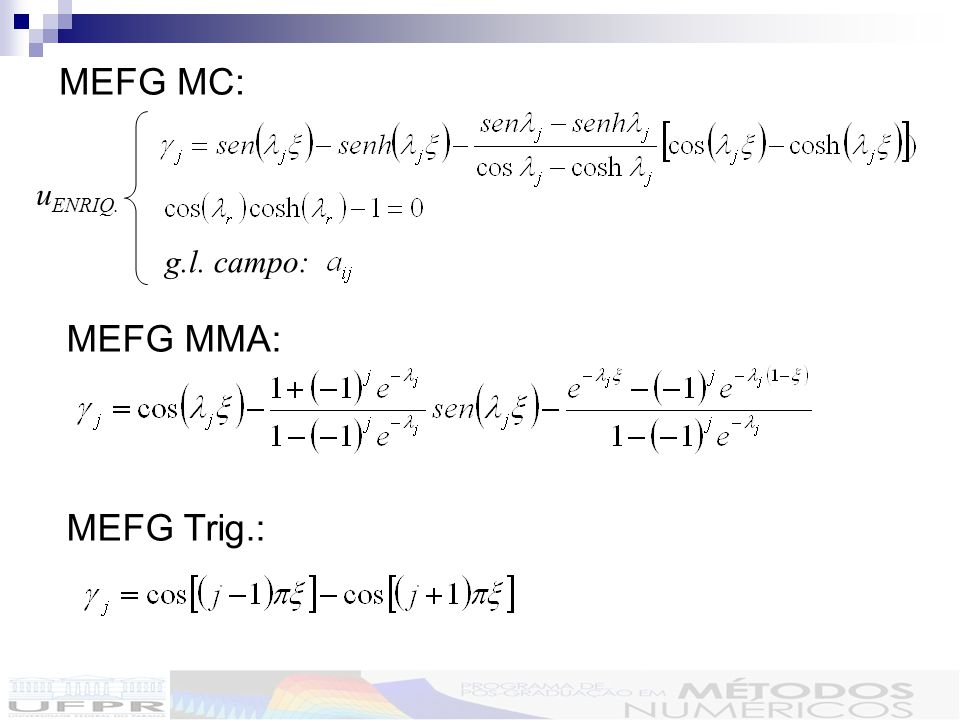 MEFG MC: uENRIQ. g.l. campo: MEFG MMA: MEFG Trig.: