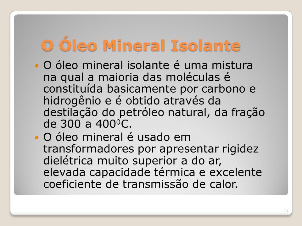 O Óleo Mineral Isolante