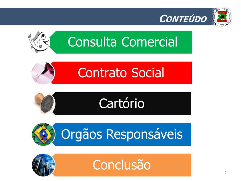 Conteúdo Consulta Comercial Contrato Social Cartório