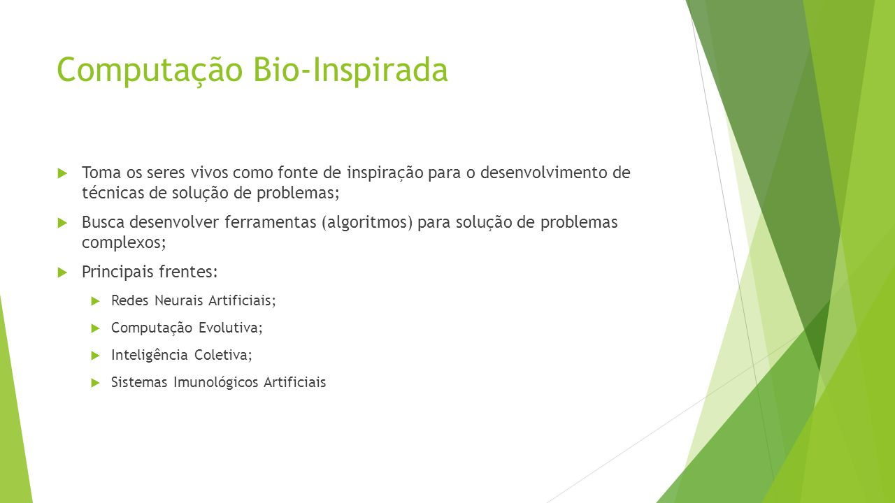 Computação Bio-Inspirada