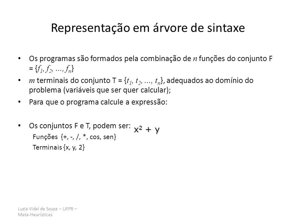 Representação em árvore de sintaxe