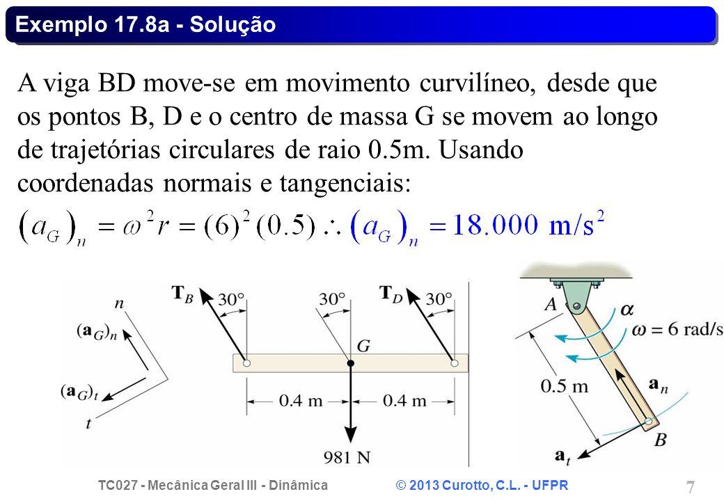 Exemplo 17.8a - Solução