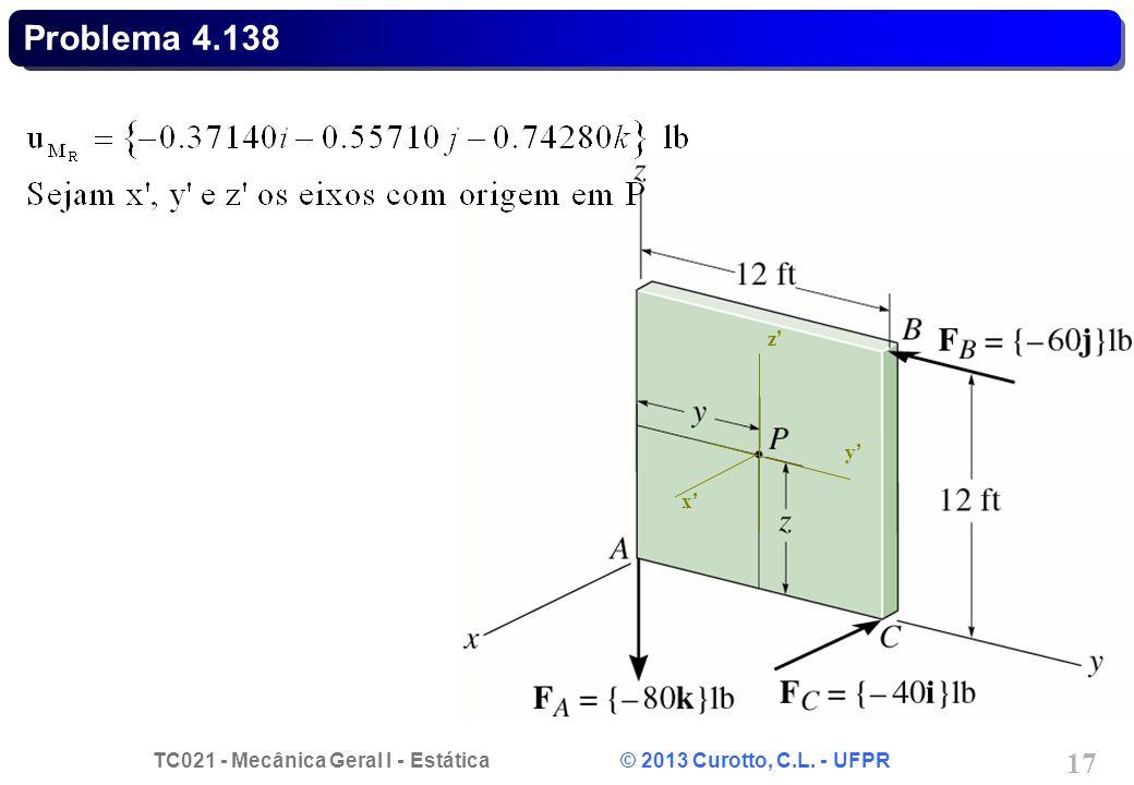 Problema 4.138 x' y' z'