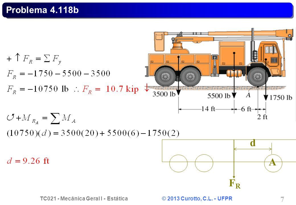 Problema 4.118b d A FR