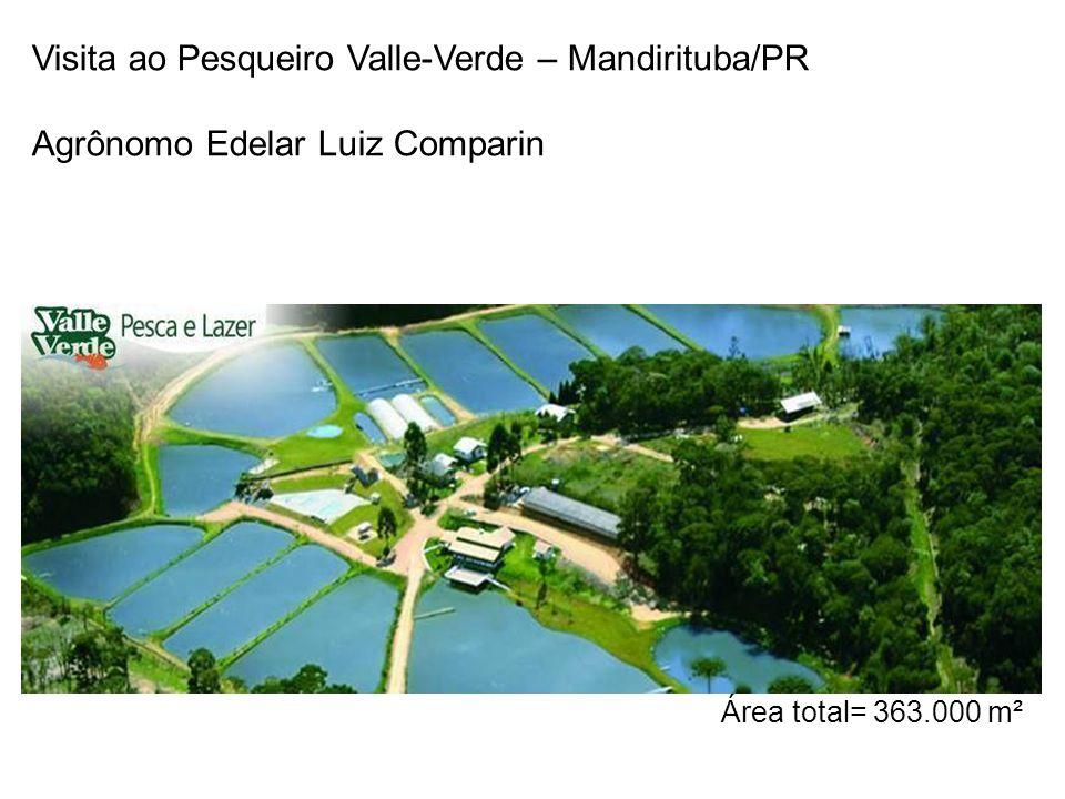 Visita ao Pesqueiro Valle-Verde – Mandirituba/PR