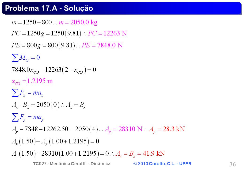 Problema 17.A - Solução