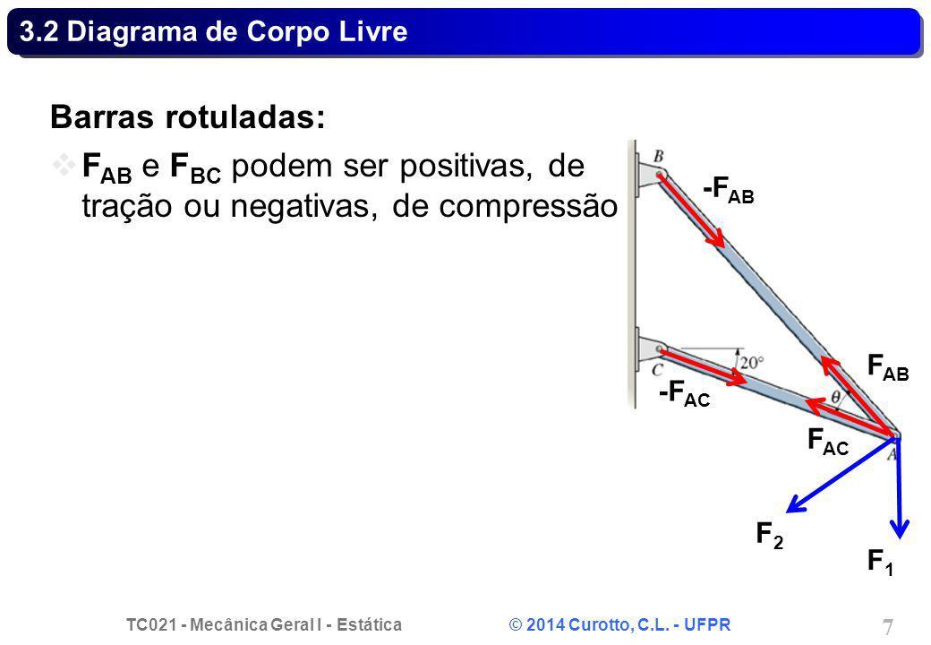3.2 Diagrama de Corpo Livre
