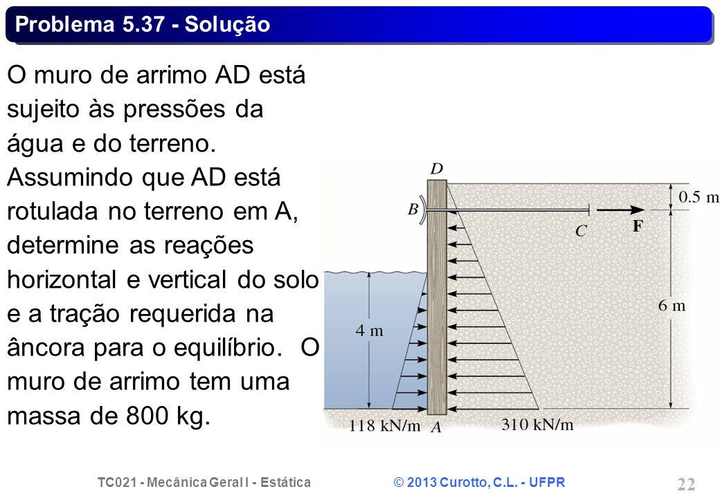 Problema 5.37 - Solução