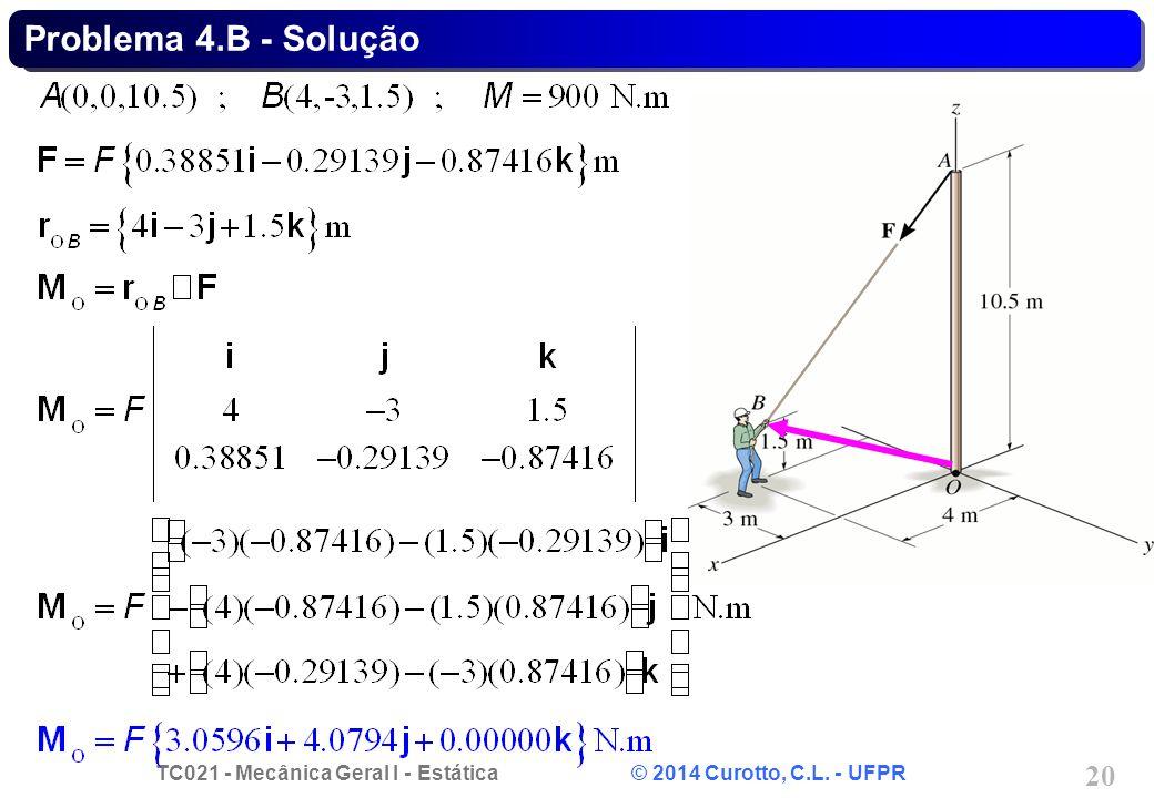 Problema 4.B - Solução