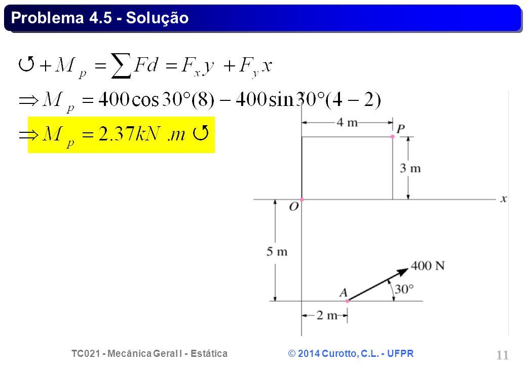 Problema 4.5 - Solução