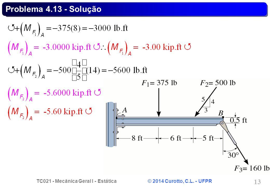 Problema 4.13 - Solução