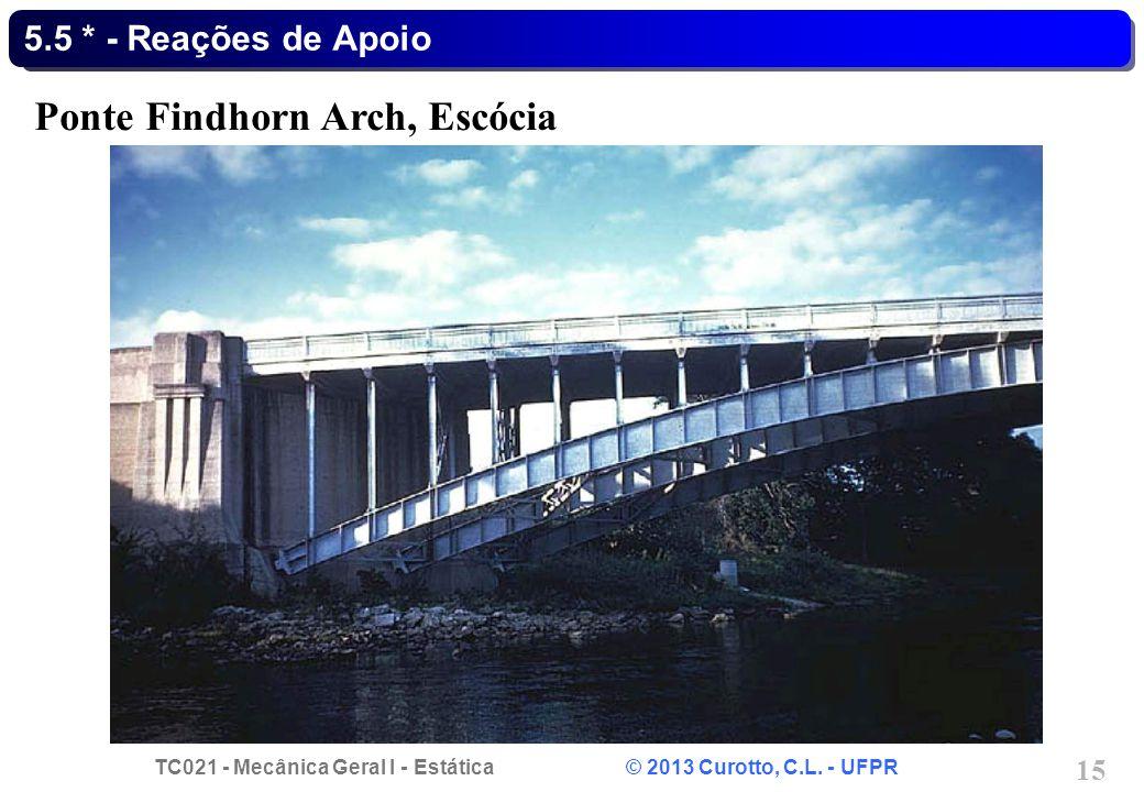 Ponte Findhorn Arch, Escócia