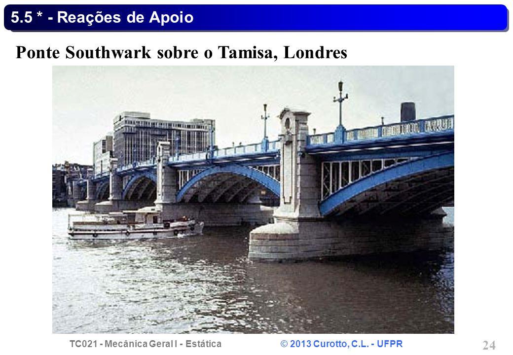 Ponte Southwark sobre o Tamisa, Londres