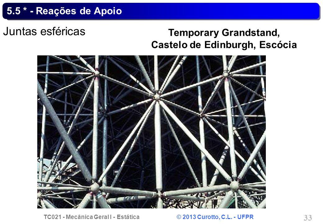 Temporary Grandstand, Castelo de Edinburgh, Escócia