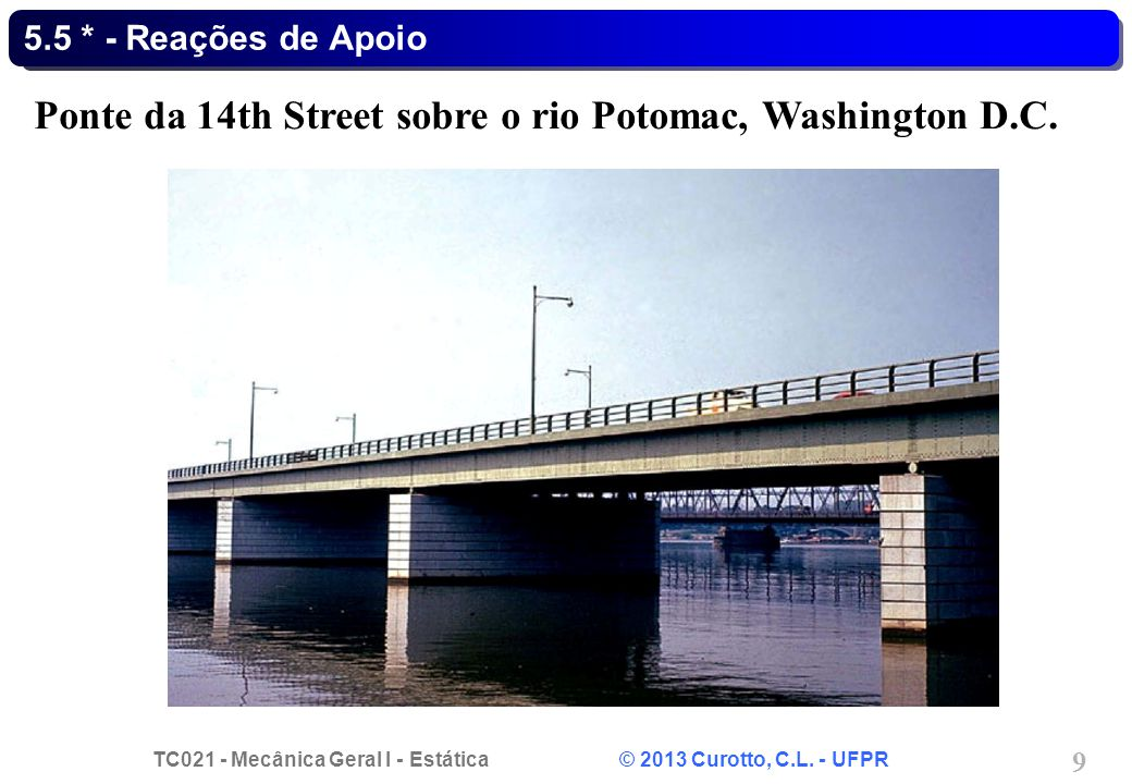 Ponte da 14th Street sobre o rio Potomac, Washington D.C.
