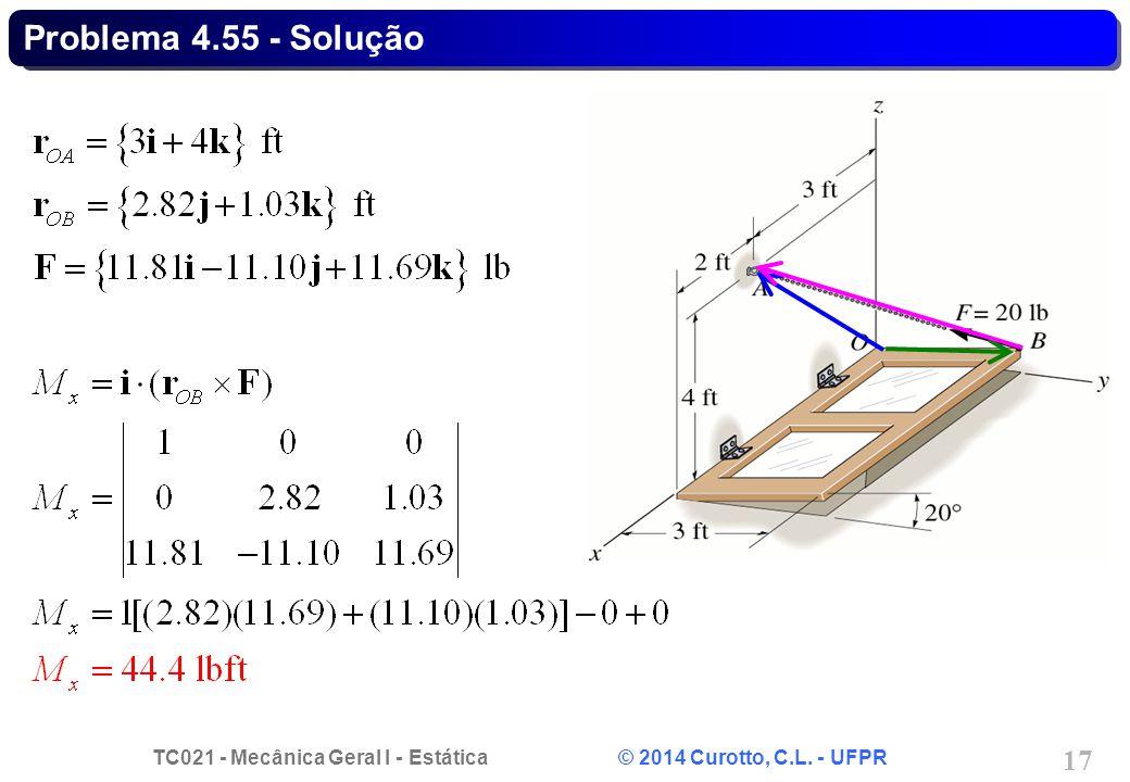 Problema 4.55 - Solução