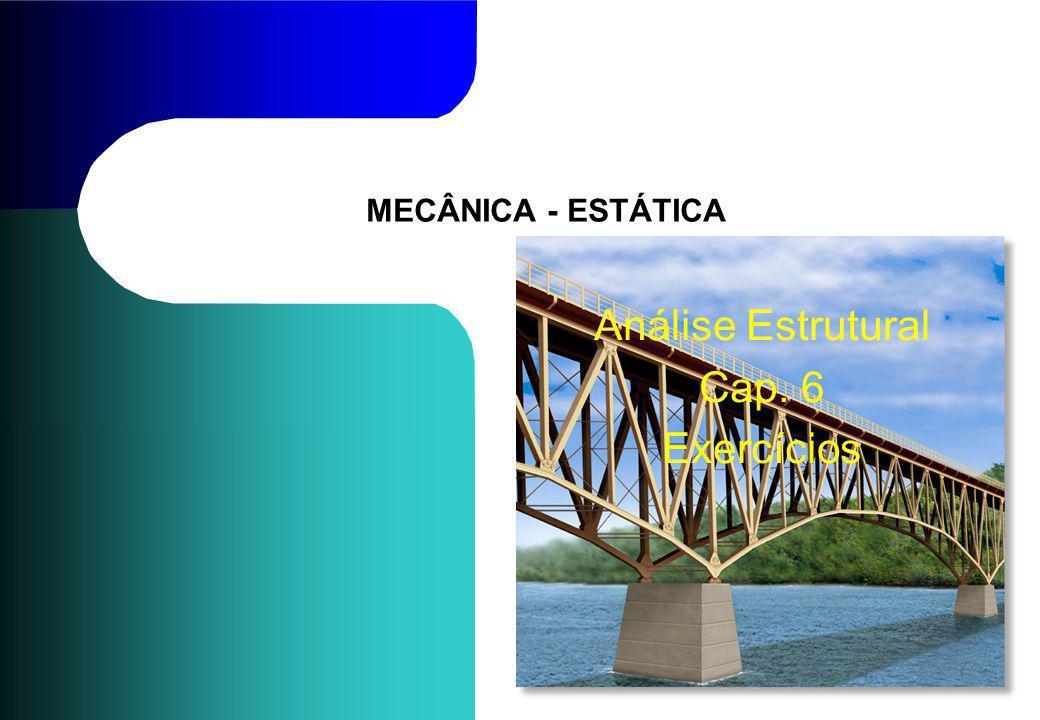 Análise Estrutural Cap. 6 Exercícios